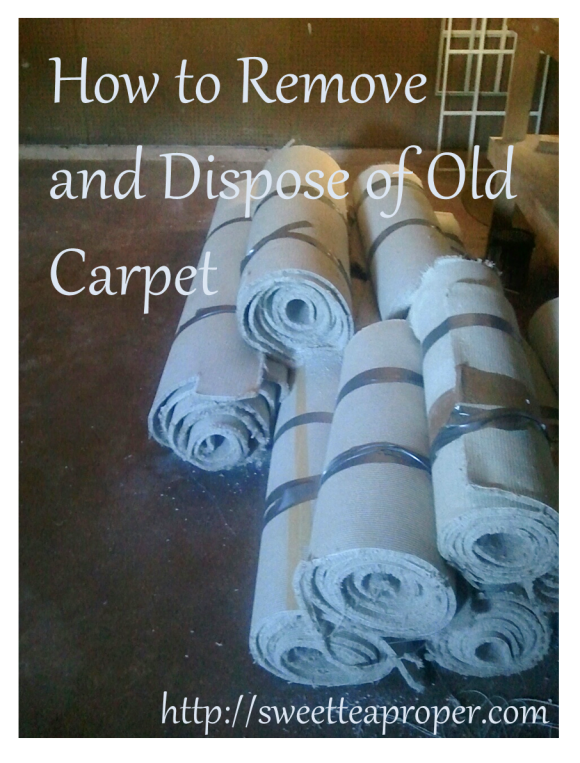 Remove Old Carpet 1