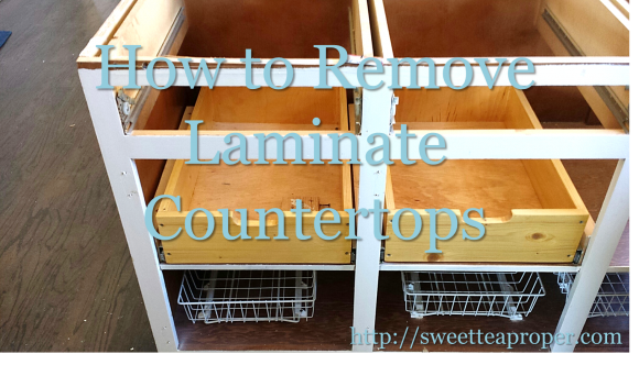 Removing Laminate Countertops