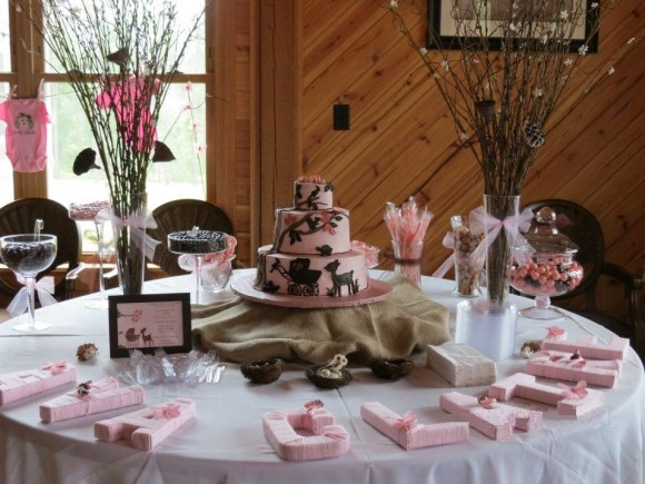 Woodland / Forest Themed Baby Shower For A Girl