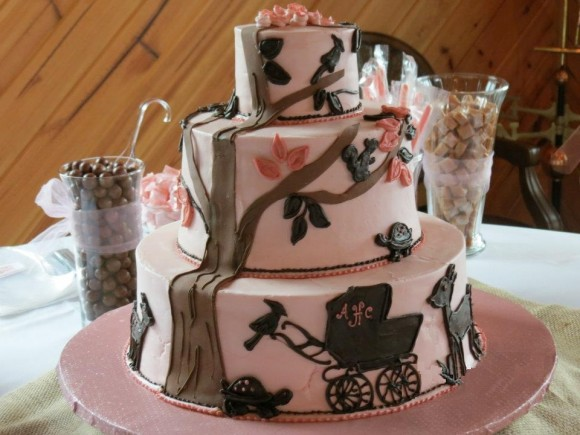 Woodland Forest Themed Baby Shower For A Girl Sweet Tea Proper